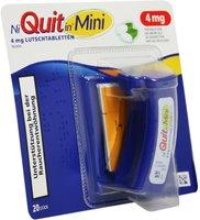 gsk Niquitin Mini 4 mg Lutschtabletten (20 Stk.)
