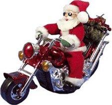 Hellum 599923 Nikolaus auf Motorrad Glühlampenwerk