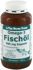 Hirundo Products Omega 3 Fischöl Kapseln 500 mg (400 Stk.)