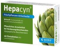 Quiris Hepacyn Frischpflanzen-Artischocke Filmtabletten (60 Stk.)