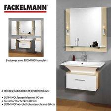Fackelmann Badmöbelset Domino 3tlg.