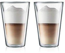 Bodum Canteen Glas 0,4 Ltr. 2er Set