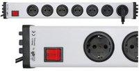 Ehmann 7-fach Überspannungsschutz Optik plus mit Schalter