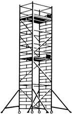 Hymer Fahrgerüst mit Ausleger 6473/09