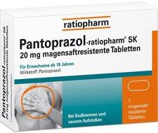 ratiopharm Pantoprazol Gastro 20 mg magensaftr. Tabletten (7 Stk.)