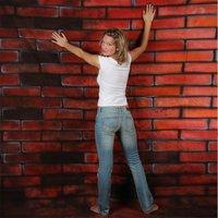 Walimex pro Motiv-Stoffhintergrund Bricks, 3x6m