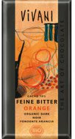 Vivani Feine Bitter Orangen Schokolade (100 g)