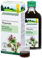 Schoenenberger Thymian-Saft (200 ml)
