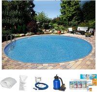 Summer Fun Ibiza Pool-Set 350x120cm 7-tlg