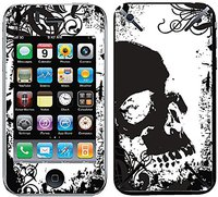 iCandy New Skin Grunge Skull für iPhone 3G