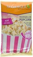 Seeberger Mikrowellen Popcorn gezuckert (100 g)