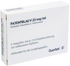 Guerbet Patentblau V Amp. 5 x2 ml
