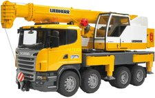 Bruder Scania R-Serie Liebherr Kran-LKW (03570)