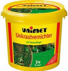 UNIMET Unkrautvernichter mit Rasendünger 10 kg