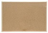 5-Star Wandtafel 60x40cm braun Kork/Holz