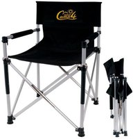 Camp 4 Director's Chair Luxus Faltstuhl schwarz