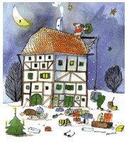Little Tiger Weihnachtshaus Adventskalender