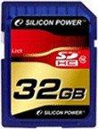 Silicon Power SDHC Card 32 GB Class 10