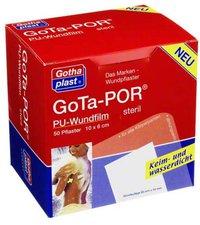 Gothaplast GOTA POR PU Wundfilm 10x6cm steril Verband (50 Stück)