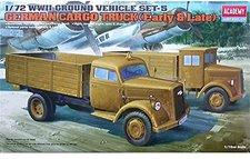 Academy WWII - 5 Ground Vehicles Set (13404)