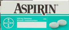 EMRA-MED Aspirin 0,5 g Tabletten (20 Stk.)