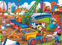 Clementoni Mickey's Toon Town - The construction site (350 Teile)