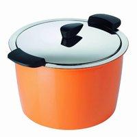 Kuhn Rikon Hotpan Servierkochtopf 22 cm orange