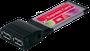 Exsys EX-1232 - USB 3.0 ExpressCard Karte mit 2 Ports (NEC)