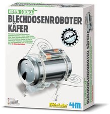 HCM Green Science - Blechdosen Roboter Käfer (63266)