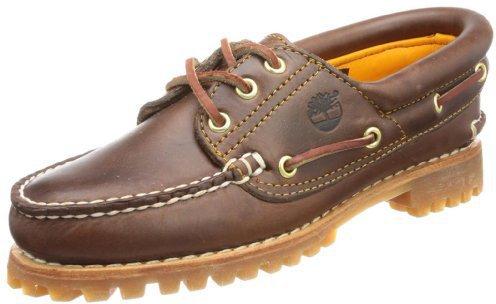 Timberland Noreen Classic 3-Eye Boat Shoe - Brown 51304