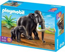 Playmobil Mammut mit Baby 5105