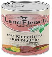 Dr. Alder's Landfleisch Pur Rinderherzen & Nudeln (400 g)