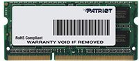 Patriot Signature 4GB SO-DIMM DDR3 PC3-12800 CL11 (PSD34G16002S)