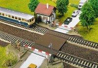 Faller Beschrankter Bahnhübergang Elektroantrieb (120174)