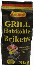 Favorit Qualitäts Grill Briketts 3 kg