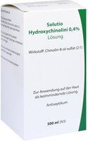 Leyh-Pharma Solutio Hydroxychinolini 0,4% (500 ml) (PZN: 00657289)