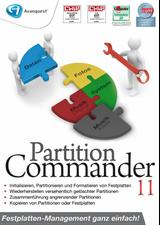 Avanquest Partition Commander 11 (Win) (DE)