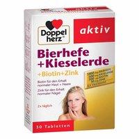 Doppelherz Bierhefe + Kieselerde + Biotin + Zink Tabletten (30 Stk.)