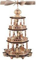 Müller Kleinkunst 3-stöckige Pyramide Heilige Geschichte (52 cm)