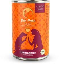 Herrmanns Hundefutter Bio Pute mit Reis (400 g)