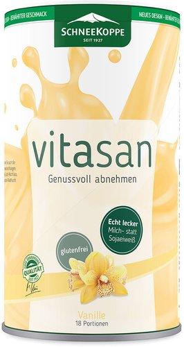 Schneekoppe VITASAN Slim Vanille Mahlzeiten-Ersatz Pulver (450 g)