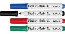 MAUL Flipchart-Marker-Set XL 4 St./Set sortiert