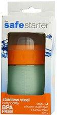 Kid Basix Babyflasche Safe Starter 150 ml Edelstahl