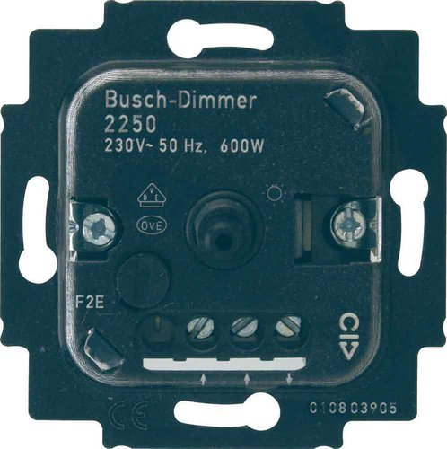 busch jaeger busch dimmer einsatz 2250 u g nstig kaufen. Black Bedroom Furniture Sets. Home Design Ideas