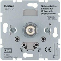Berker Universal-Drehdimmer-Nebenstelle mit Softrastung (286210)