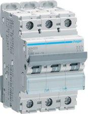 Hager Leitungsschutzschalter 3polig B-20A 10kA 3M (NBN320)