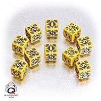 Q-Workshop Axis und Allis - Sniper Dice: Yellow/Black (WSN13)