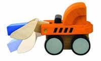 Plan Toys PlanActivity - Mini Bulldozer