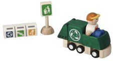 Plan Toys PlanCity - Recycling Truck Set (6243)
