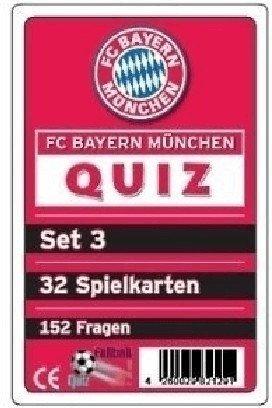 Teepe Sportverlag FC Bayern München Quiz Set 3